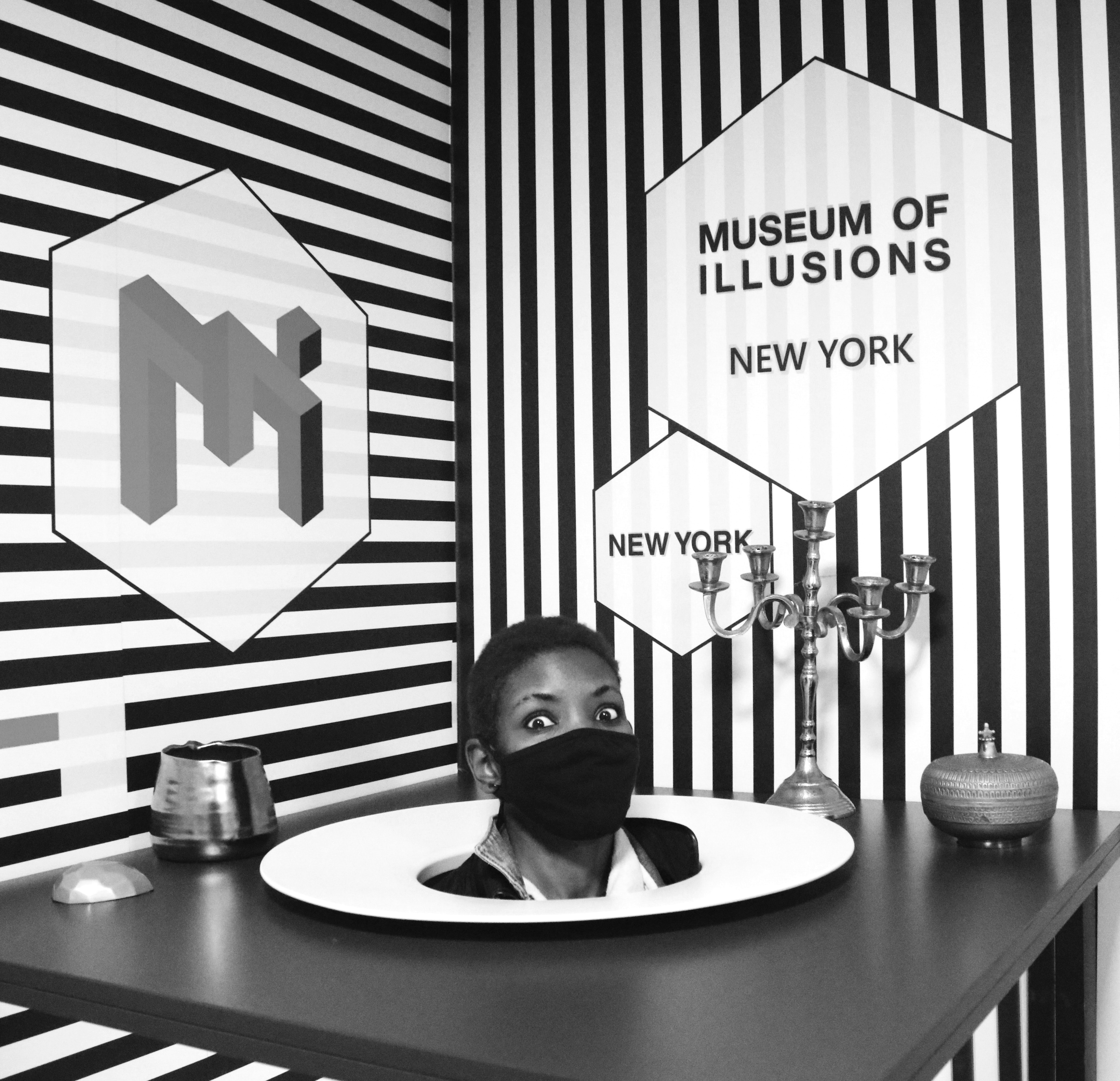 Things are not what they seem – no likelihood of confusion for MUSEUM OF ILLUSIONS
